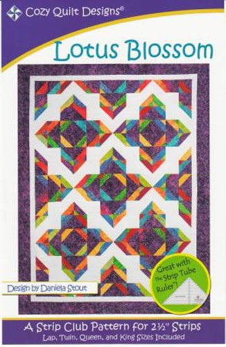 """Patter  """"Lotus Blossom"""" from Cozy Quilt Designs"""