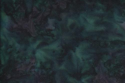 Mörk grönsvart melerad