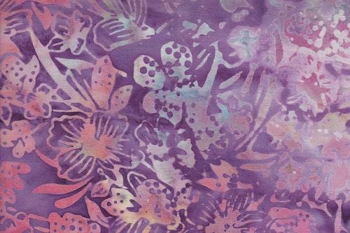 "Lilaljusblåturkosgrön ""Flower Garden"""