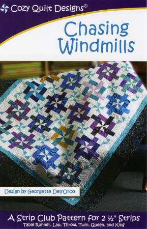 """Mönster """"Chasing Windmills"""" från Cozy Quilt Designs"""