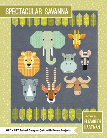 "Pattern ""Spectacular Savanna"" by Elizabeth Hartman"