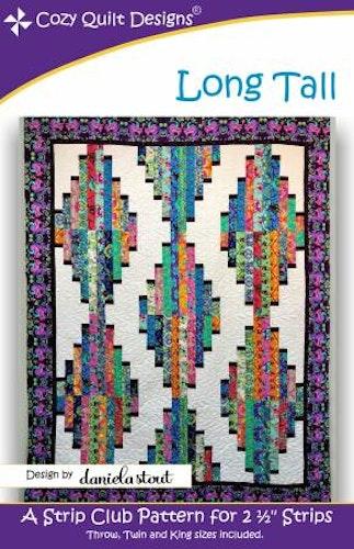 """Mönster """"Long Tall"""" från Cozy Quilt Designs"""