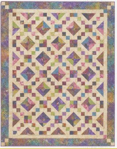 """Mönster """"Buckeye Beauty"""" från Cozy Quilt Designs"""