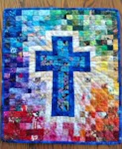 Rainbow Cross. Mönster från Cut Loose Press