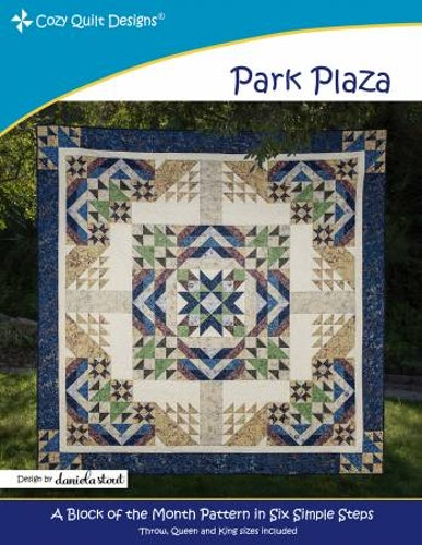 """Mönster """"Park Plaza"""" från Cozy Quilt Designs"""