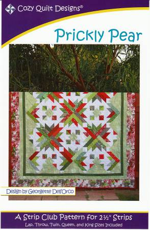 "Mönster ""Prickly Pear"" från Cozy Quilt Designs"