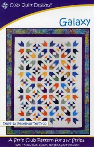 """Mönster """"Galaxy"""" från Cozy Quilt Designs"""