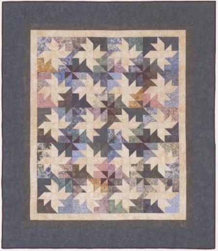 """Mönster """"Milky Way"""" från Cozy Quilt Designs"""