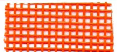 Orange Mesh till väska, 55 *92 cm