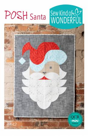 Posh Santa. Mönster från Sew Kind of Wonderful