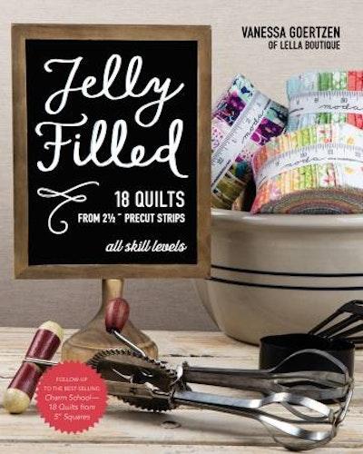"Bok ""Jelly Filled"" av Vanessa Goertzen of Lella Boutique"