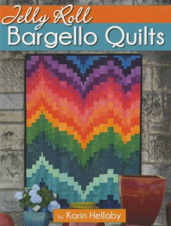 "Bok ""Jelly Roll Bargello Quilts"" av Karin Hellaby"