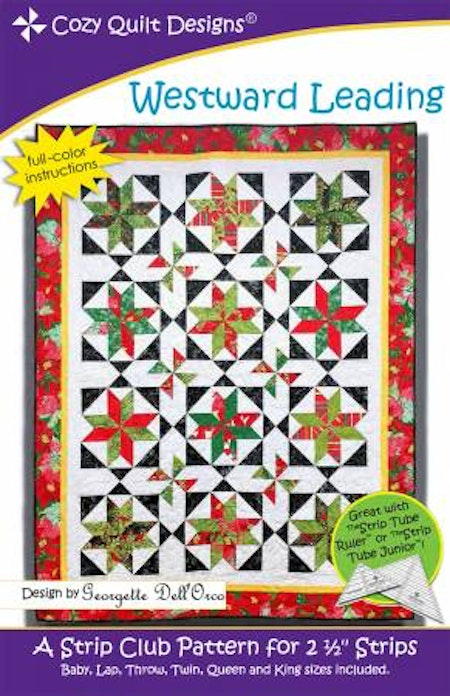 "Mönster ""Westward Leading"" från Cozy Quilt Designs"