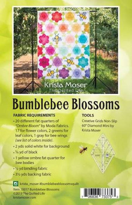 Bumblebee Blossoms. Mönster från Krista Moser