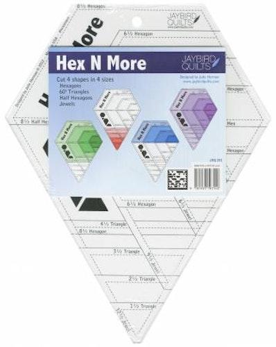 Hex N More från Jaybird Quilts