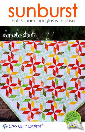 "Mönster ""Sunburst"" från Cozy Quilt Designs"
