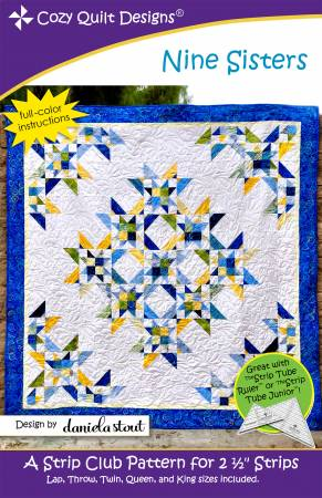 "Mönster ""Nine Sisters"" från Cozy Quilt Designs"