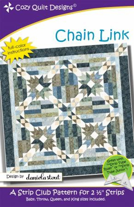 "Mönster ""Chain Link"" från Cozy Quilt Designs"