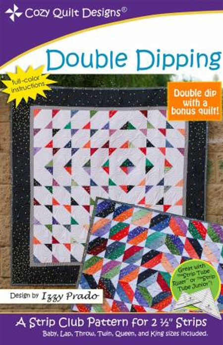 "Mönster ""Double Dipping"" från Cozy Quilt Designs"
