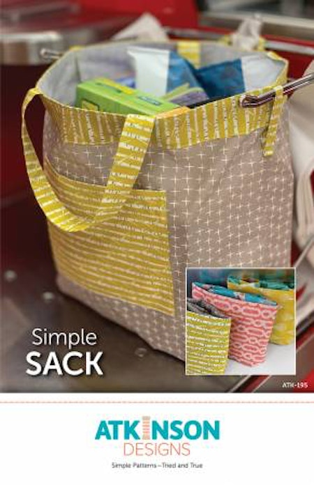 Simple Sack. Mönster från Atkinson Designs