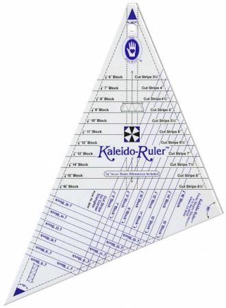 "Linjal ""Kaleido-Ruler Large"" från Marti Michell"
