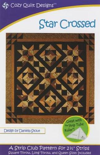"""Mönster """"Star Crossed"""" från Cozy Quilt Designs"""