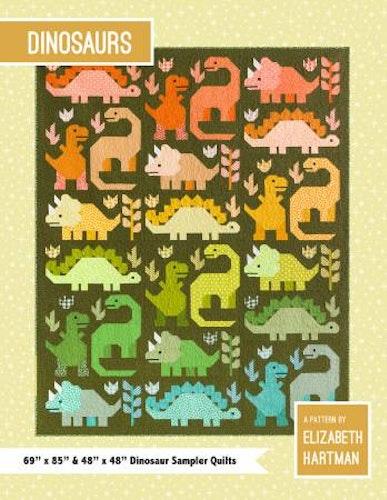 """Mönster """"Dinosaurs"""" av Elizabeth Hartman"""
