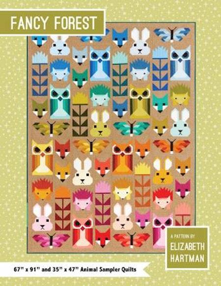 """Mönster """"Fancy Forest"""" av Elizabeth Hartman"""