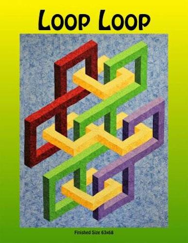 Loop Loop. Mönster av Quilters clinic