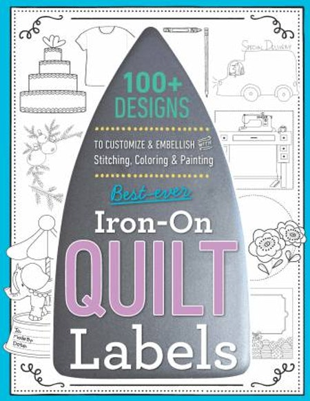 Best-Ever Iron-On Quilt Labels från C&T Publishing