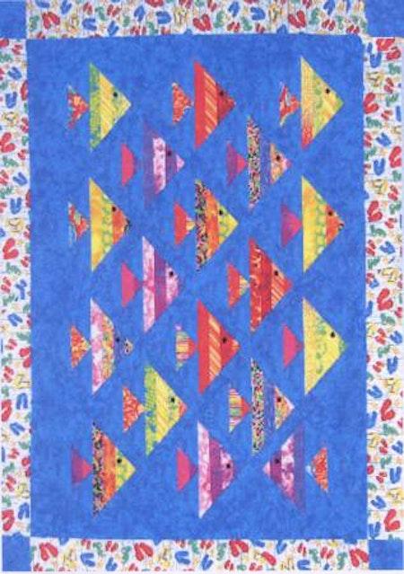 """Mönster """"1 Fish, 2 Fish"""" från Cozy Quilt Designs"""