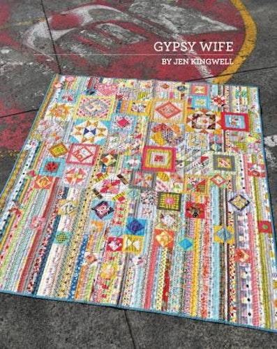 Gypsy Wife. Mönster av Jen Kingwell