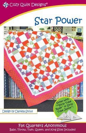 "Mönster ""Star Power"" från Cozy Quilt Designs"
