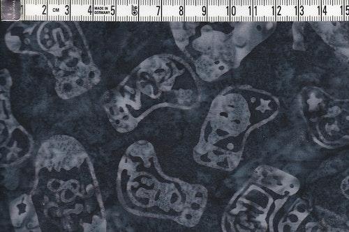 """Sockar i grått mot gråsvartmurrig botten. Tyg från serien """"Jupiter"""""""