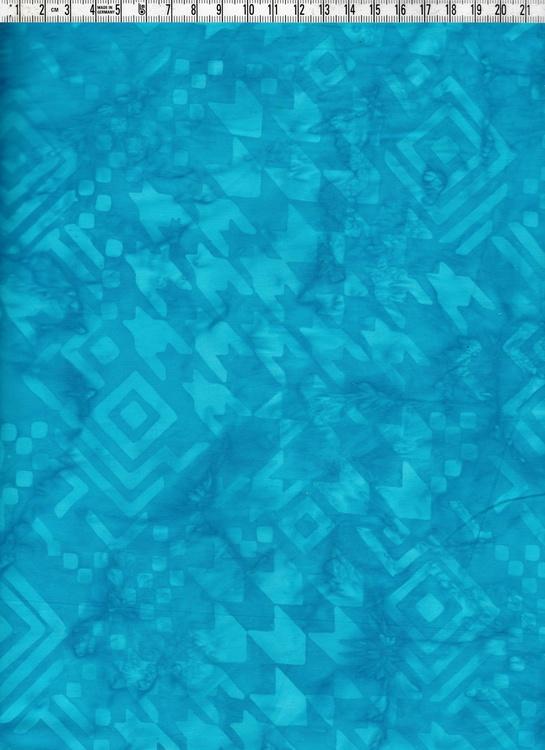 Blåturkosa färger med särpläglat tryck.  Batik direkt från Bali
