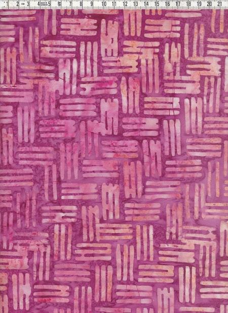 """Ännu ett av tygerna som ingår i våra batikrullar """"Flamingo"""""""