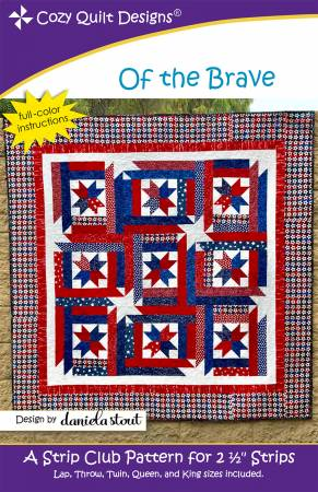 "Mönster ""Of the Brave"" från Cozy Quilt Designs"