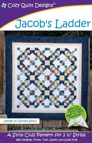 "Mönster ""Jacob´s Ladder"" från Cozy Quilt Designs"