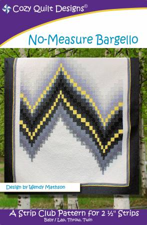 "Mönster ""No-Measure Bargello"" från Cozy Quilt Designs"