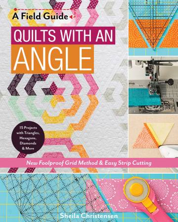 "Bok ""Quilts with an Angle"" av Sheila Christensen"