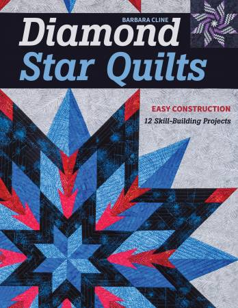 "Bok ""Diamond Star Quilts"" av Barbara H. Cline"