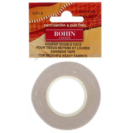 Wonder Tape, 1/4 inch*7 meter, dubbelhäftande tejp, Bohin