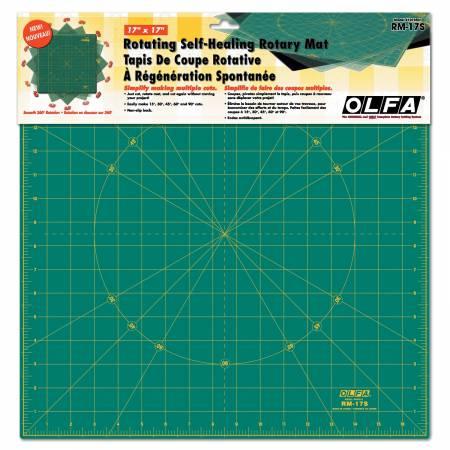 Stor roterande matta, 17*17 inch, Olfa