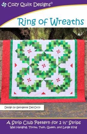 "Mönster ""Ring of Wreaths"" från Cozy Quilt Designs"