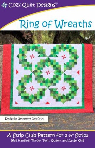 """Mönster """"Ring of Wreaths"""" från Cozy Quilt Designs"""