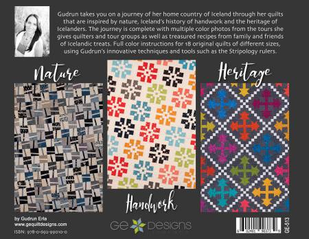 Bok Quilts of Iceland, av GE Design