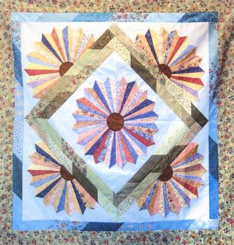 Mönster Dresden Bloom från Cozy Quilt Designs