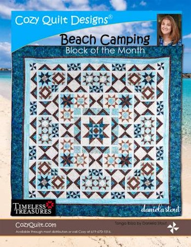 "Mönster ""Beach Camping"" från Cozy Quilt Designs"
