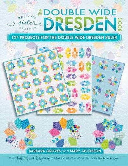 Double Wide Dresden Book. Bok från Me and My Sister. Använd med linjalen Double Wide Dresden Rulere