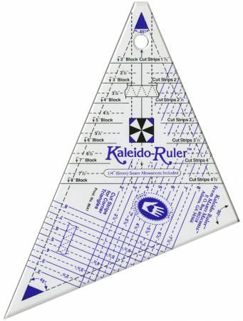 """Linjal """"Kaleido-Ruler Small"""" från Marti Michell"""